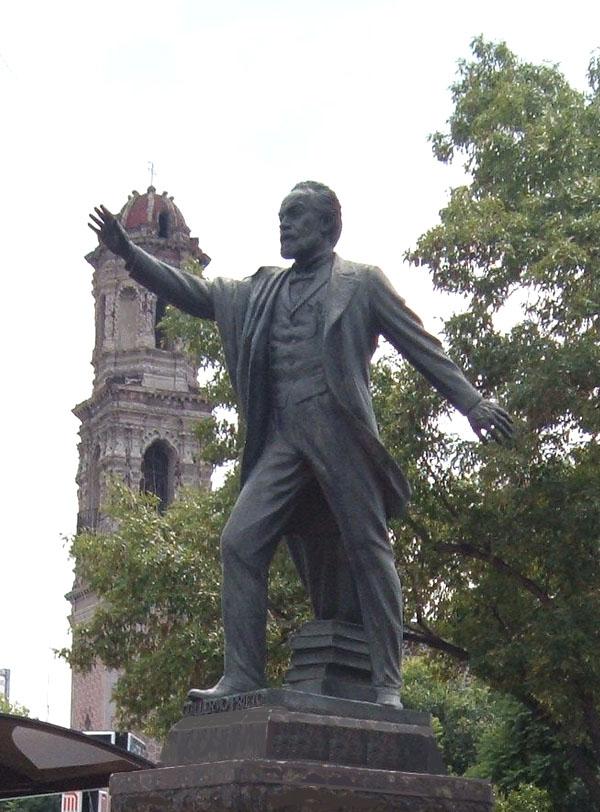 Estatuas Del Paseo De La Reforma Mexico Fotograf 237 As De