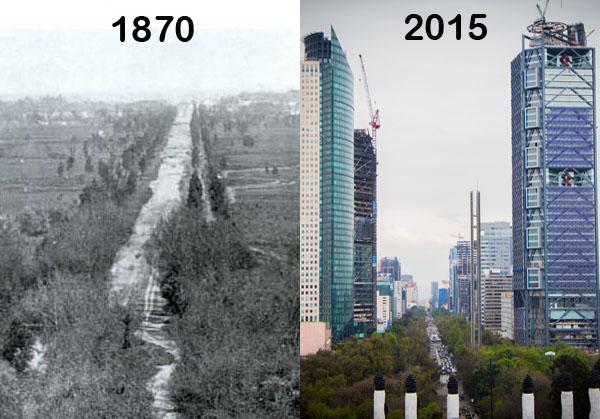 Paseo de la reforma 1864 2015 mexico - Fotos de reformas ...