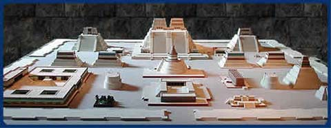 Centro ceremonial de Tenochtitlan