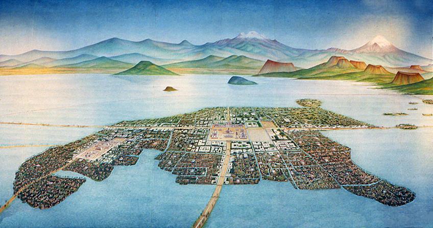 Imperio Azteca Tenoch2OleoCovarrubias
