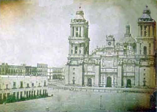 EL ZOCALO DE LA CIUDAD DE MEXICO, Primera Parte 1555-1876, desde la ...