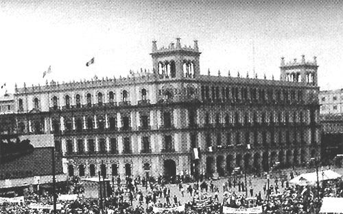 Evolucin Grfica e Histrica del Edificio del Gobierno del DF